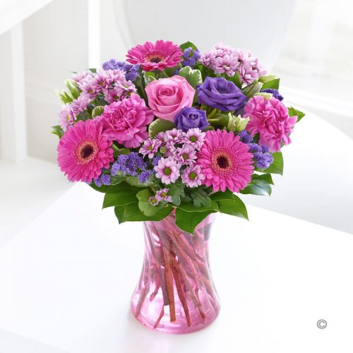 Wedding Flowers Cambridge: Colour Your Day With Happiness Vase